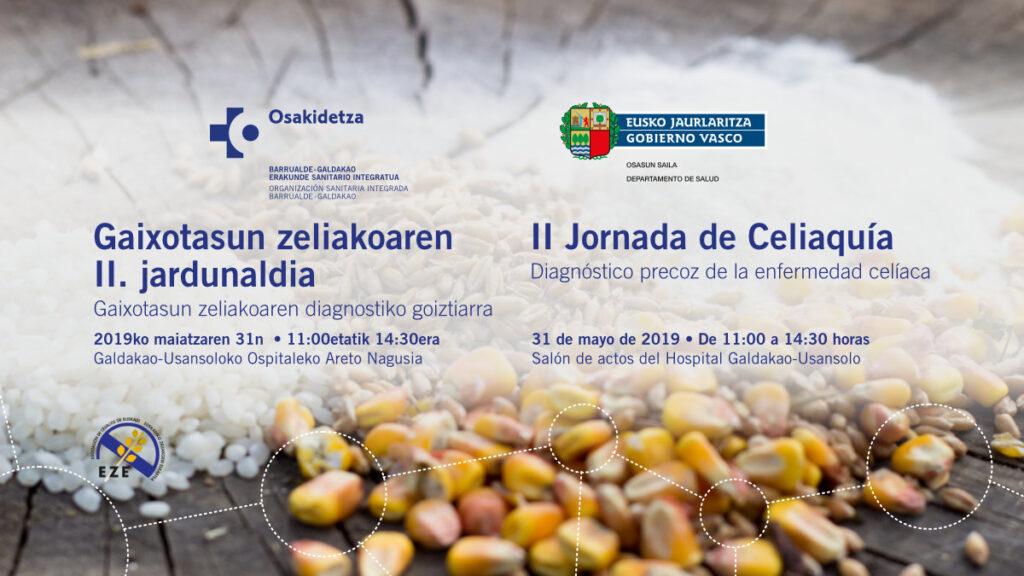 JORNADA celiaquía en el hospital de Usansolo Galdakaogaldaka